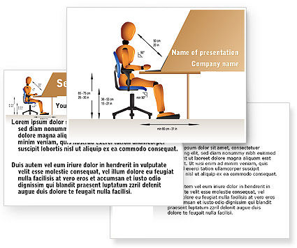 Ergonomics PowerPoint Template #08944