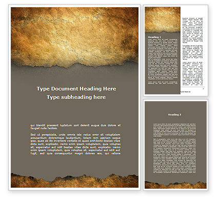 Free Parchment Templates Old Parchment Word Template