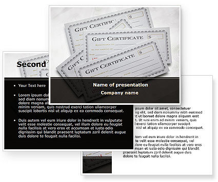 printable gift certificates template for word