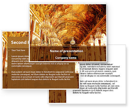 Architecture of the Renaissance PowerPoint Template #09986