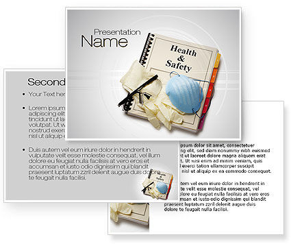 Health and safety powerpoint template poweredtemplate for Health and safety powerpoint templates