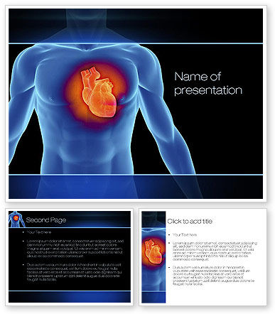 Heart Disease PowerPoint Template | PowerPoint Templates, PowerPoint ...