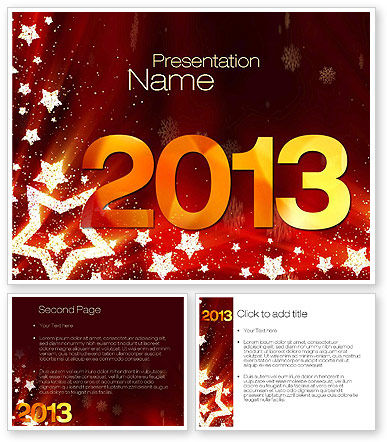 2013 PowerPoint Template #10450