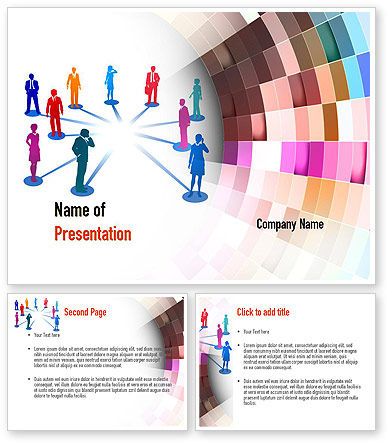 hr ppt templates free download - human resource management powerpoint template