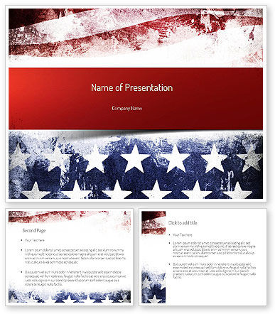 American powerpoint templates painted american flag powerpoint painted american flag powerpoint template american powerpoint templates toneelgroepblik Images