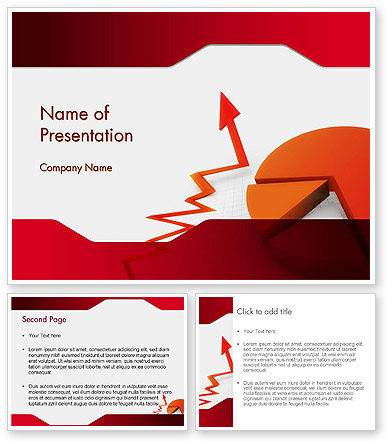 data and statistics powerpoint template poweredtemplate. Black Bedroom Furniture Sets. Home Design Ideas