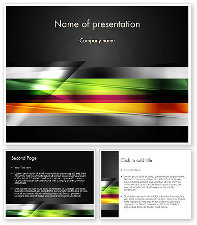 abstract motion blur powerpoint template backgrounds