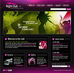 Night Club Web Site Template