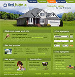 Buy Home Web Template
