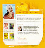 Home Page Web Template