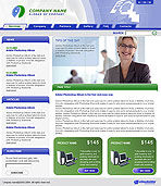 Information Technology Company Web Template
