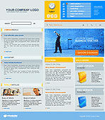Software Company Web Template #00365 - small preview