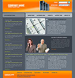 Company Management Web Template