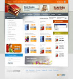 Kids Book Shop Web Template