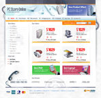 PC Store Online Web Template