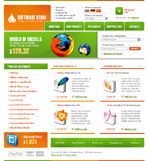 Software Online Store Web Template