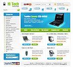 Electronic Online Store Web Template