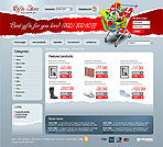 Gift Store Web template