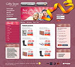 Online Gift Shop Web Template