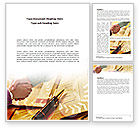 Business: Signing Agreement Word Template #00925