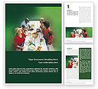 Holiday/Special Occasion: Picnic Word Template #01556