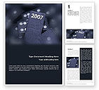 Holiday/Special Occasion: 2007 Word Template #01712