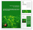Nature & Environment: Bug Word Template #01745
