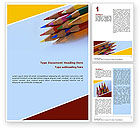 Education & Training: Pencil Word Template #02294