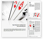 Playing Cards Word Template #02295 - small preview