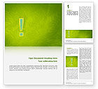 Abstract/Textures: Exclamation Mark Word Template #02683