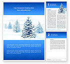 Winter Snow Word Template #02800 - small preview