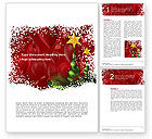 New Year Celebration Word Template #02885 - small preview