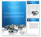 Construction: House Building Word Template #02955