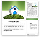 Real+estate+appraisal: Model of House Word Template #03648