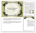 Old+paper: Artistic Frame Word Template #03742