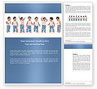 People: Baby Emotions Word Template #03852