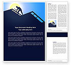 Real+estate+appraisal: Builder On A Roof Word Template #04121