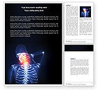 Neck Pain Word Template #04292 - small preview