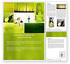 Cliparts-features: Alternative Energy Word Template #04535