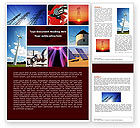 Cliparts-features: Energy Supply Word Template #04540