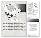 Consulting: Agreement Word Template #04652