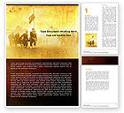 American Civil War Word Template #05086 - small preview
