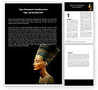 Nefertiti Word Template #05189 - small preview
