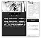 Construction: Home Remodeling Plan Word Template #05239