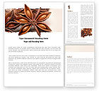 Agriculture and Animals: Free Anise Word Template #05274