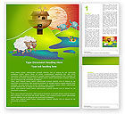 Free Noah's Ark Word Template #05316 - small preview