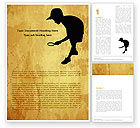 Education & Training: Young Explorer Word Template #05570