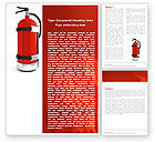 Fire Extinguisher Word Template #05641 - small preview