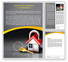 Financial/Accounting: Turnkey House Word Template #06556