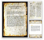 Old+paper: Rusty Background Word Template #06808